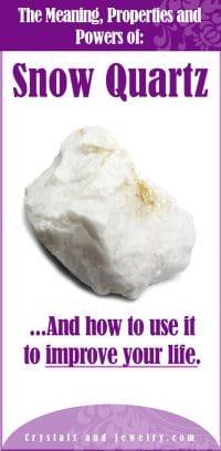 snow quartz meaning
