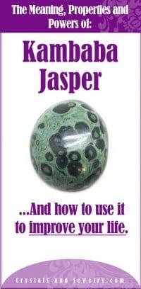 kambaba jasper meaning