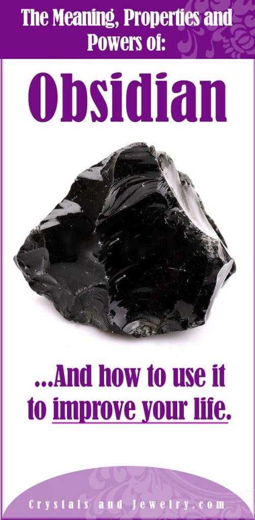 obsidian meaning properties and powers