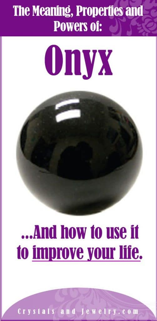 onyx meanings properties and powers