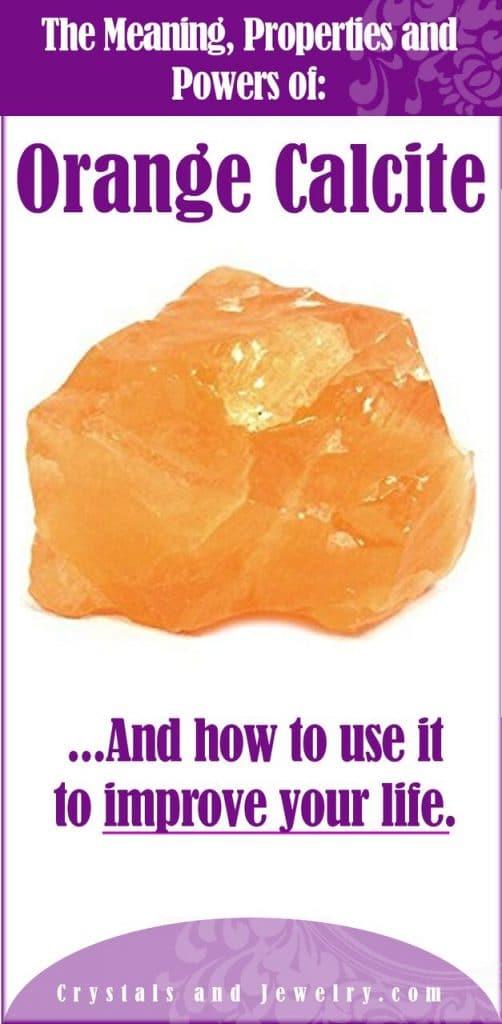 orange calcite meaning