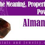 Almandine meaning