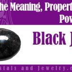 Black Jade meaning properties powers
