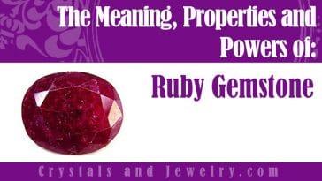 ruby gemstone meaning