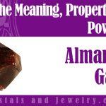 almandine garnet meaning