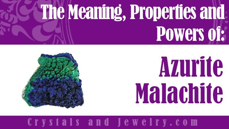 azurite malachite meaning properties powers