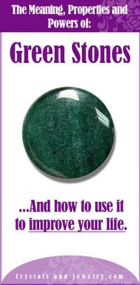 green stones meaning