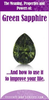 green sapphire meaning