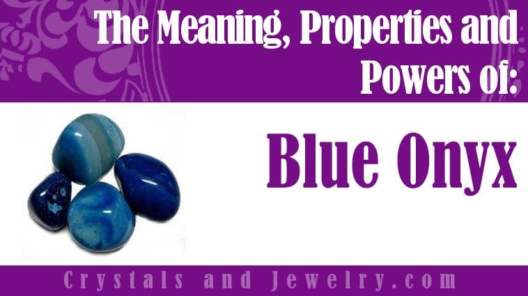 blue onyx meaning