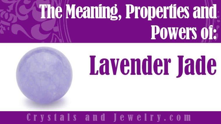lavender jade meaning