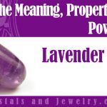 lavender stone meaning