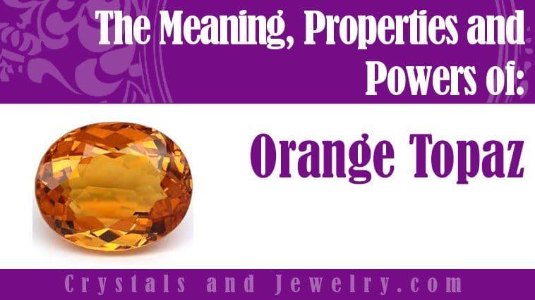 orange topaz meaning
