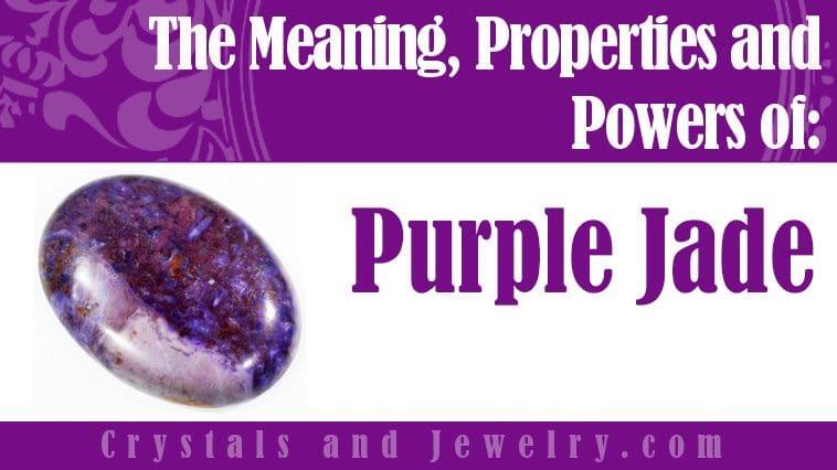 purple jade meaning