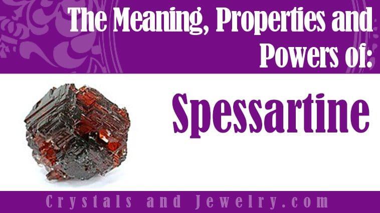 spessartine meaning