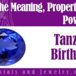 tanzanite birthstone meaning