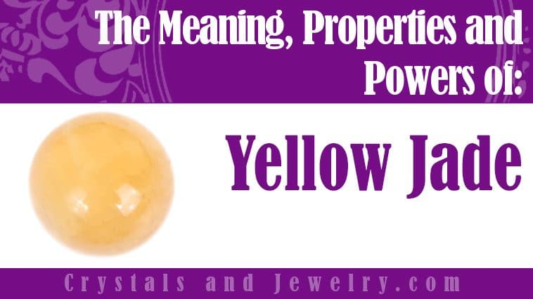 yellow jade meaning