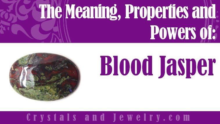 blood jasper meaning