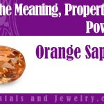 orange sapphire meaning