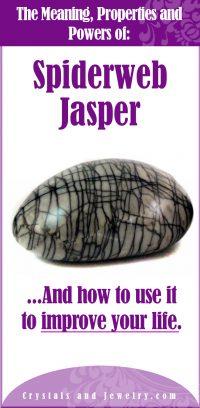 spiderweb jasper meaning