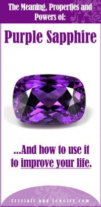 purple sapphire meaning