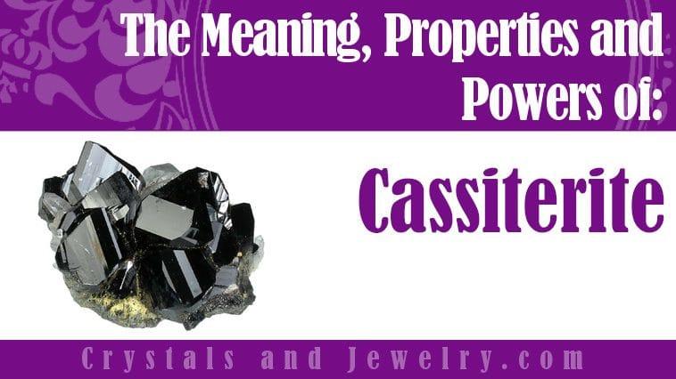 cassiterite meaning