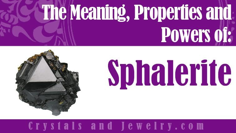 sphalerite meaning