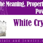 white crystals meaning