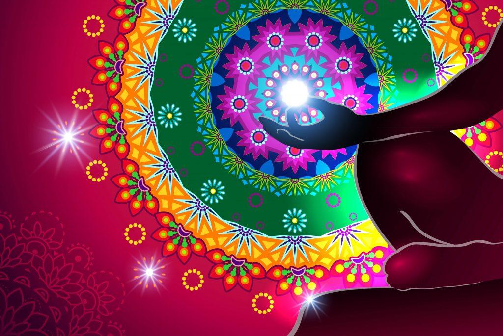 Chakra Meditation Mandala