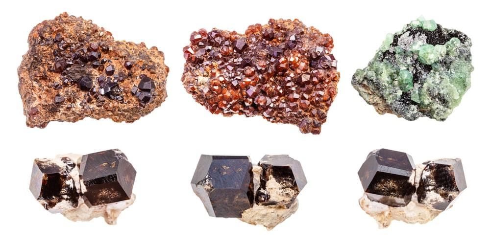 Andradite Crystals