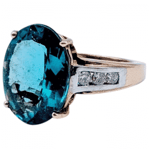 Indicolite crystal example