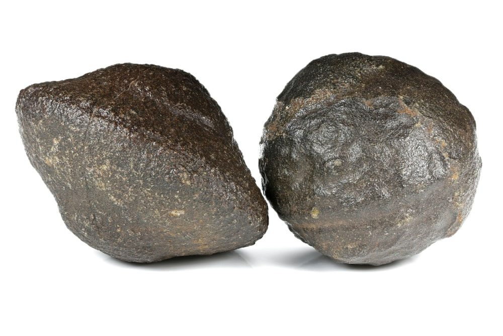 Male and female Moqui Marbles Balls
