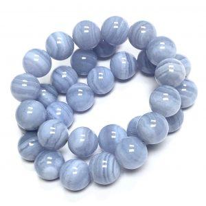 Lovely Blue Lace Agate bracelets