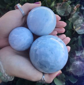 Alluring Blue Calcite stones