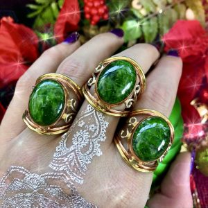 Charming Diopside rings