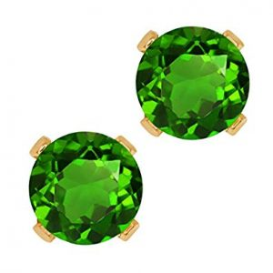 Lovely green Diopside crystals