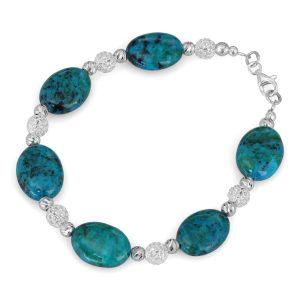 a wonderful Eilat Stone bracelet