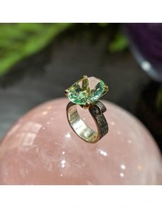Beautiful Prasiolite jewelry