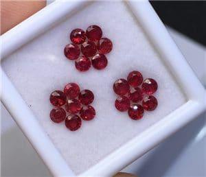 Beautiful Ruby Stones jewelry