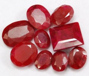 Ruby Stones meanings and properties