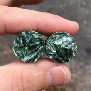Beautiful Seraphinite jewelry