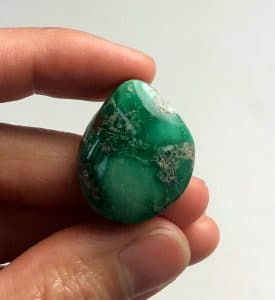 Variscite stone beads