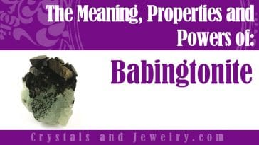 Babingtonite Meaning Properties and Powers