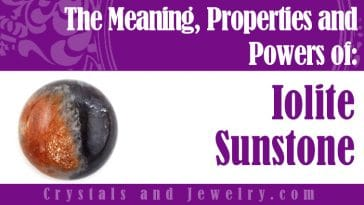 iolite sunstone meaning properties powers and uses