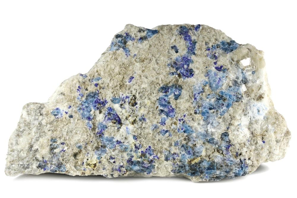 Afghanite Calcite Matrix