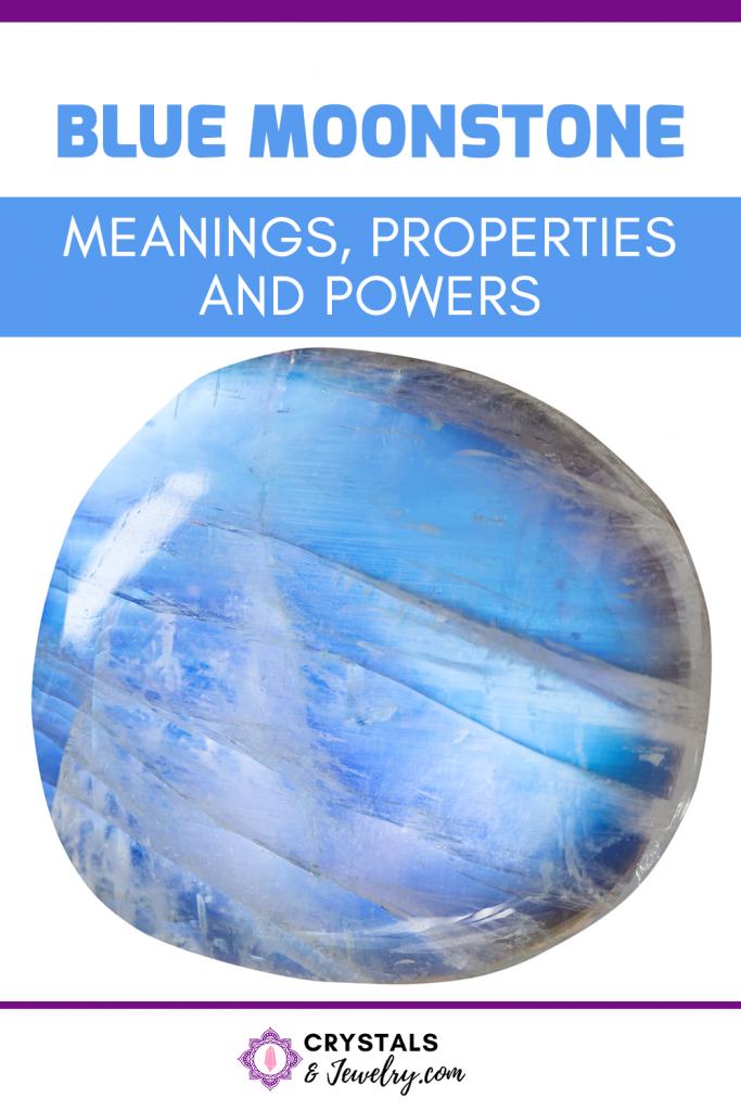 Blue Moonstone Pin