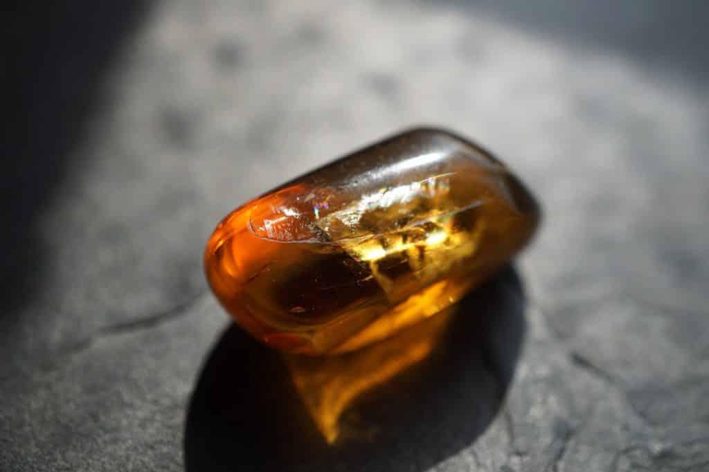 Honey Calcite Tumbled