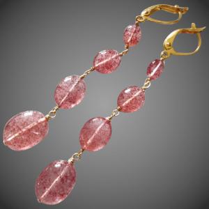 Lovely Lepidocrosite jewelry