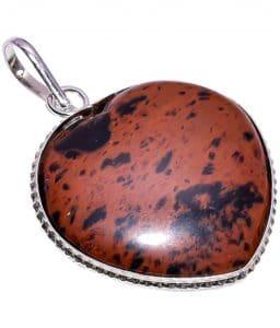 Stunning Mahogany Obsidian jewelry