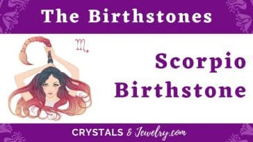 Scorpio Birthstone