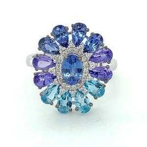 Tanzanite stone jewelry